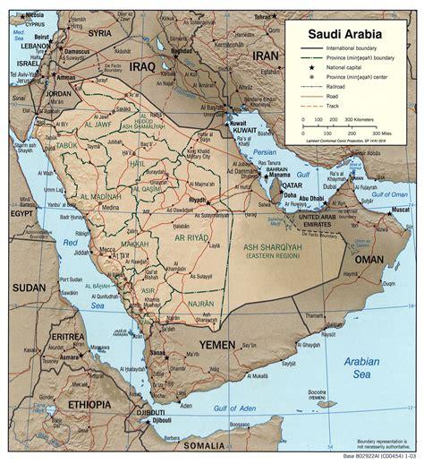 sketchbook lengkap geography of saudi arabia