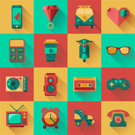 design icon pack 40 amazing hipster fonts graphics badges icons and more