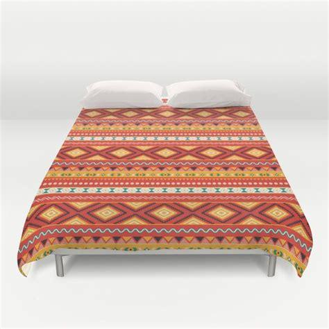 tribal pattern duvet cover tribal 5 ethno ethnic aztec navajo pattern boho chic