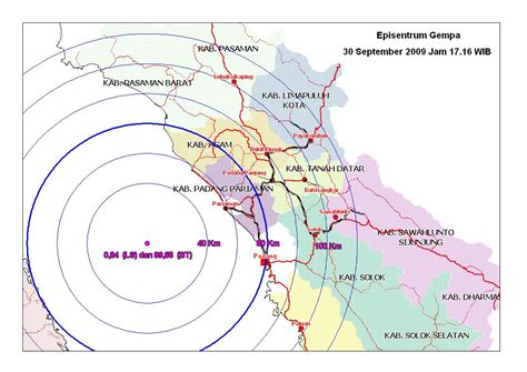 Fenomena Gempa 30 September 2009 istilah istilah dalam gempa bumi geograph88