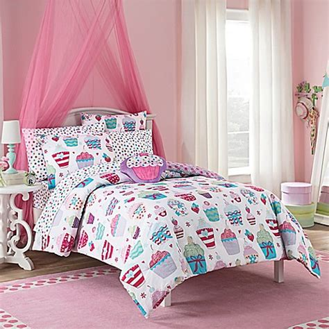 vcny cupcake world comforter set in pink bed bath beyond