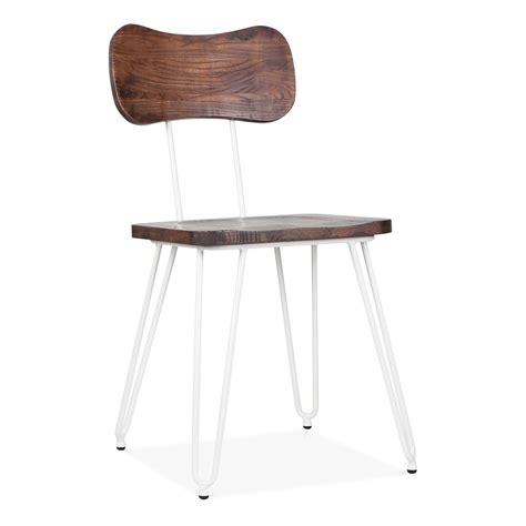 Hairpin Leg Chair by Susa Chair With Hairpin Legs In White By Cult Living