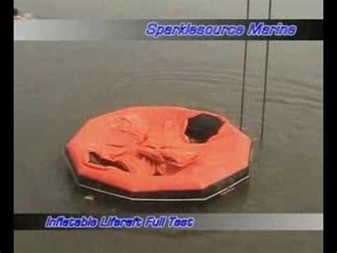 zodiac boat inflation instructions liferaft explosion doovi