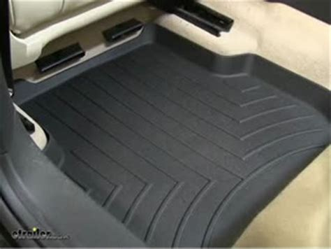 453382 floor mats weathertech 2nd row rear auto floor mat weathertech
