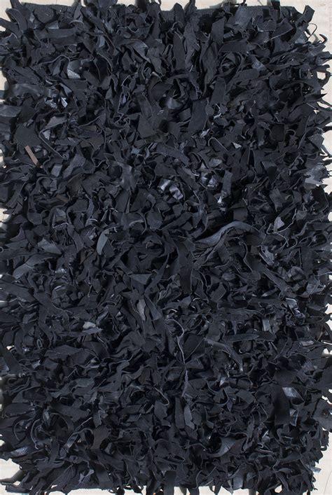 Black Shag Rugs Black Shag Rug
