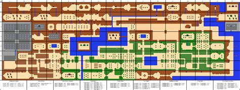 legend of zelda money map the legend of zelda overworld map