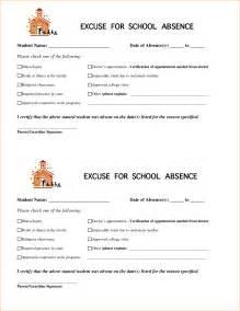 13 excuse notes for schoolagenda template sample agenda