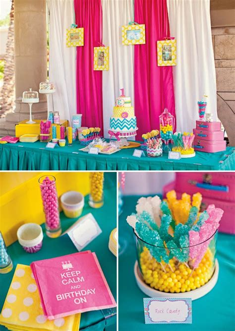 party themes with the color blue 34 creative girl first birthday party themes ideas my