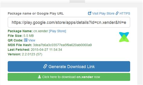 apk downloader app website to generate apk file for any android app mobilitaria