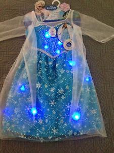 musical light up dress elsa light up musical dress costume disney frozen