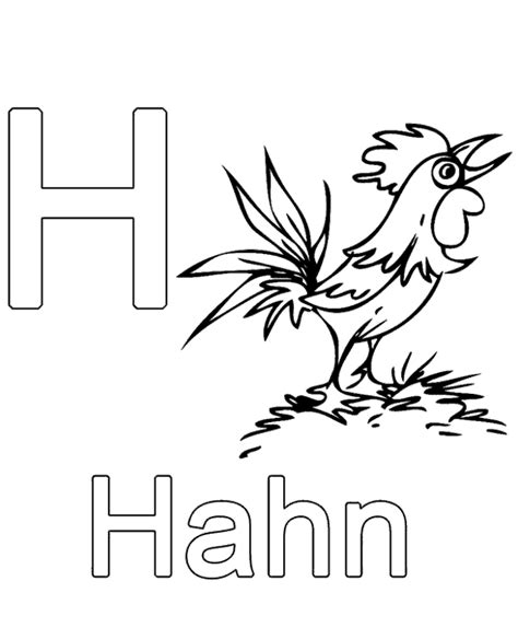 german alphabet coloring pages letter h to print or download for free