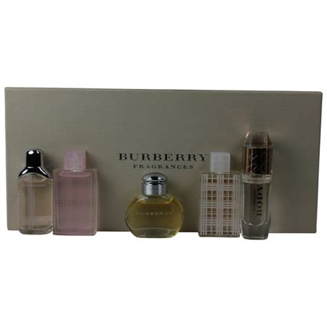 Sale Burberry Set Mini burberry by burberry for variety miniature set classic palm perfumes