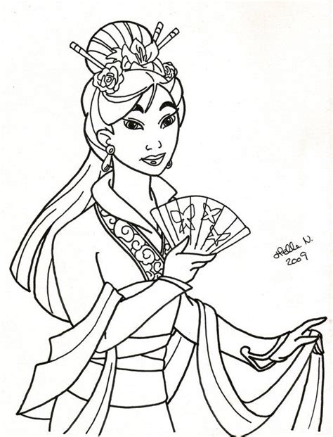 real princess coloring pages 45 best images about disney mulan on disney