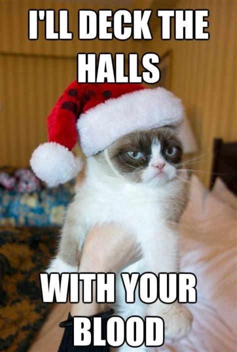 Grumpy Cat Meme Christmas - have a grumpy christmas