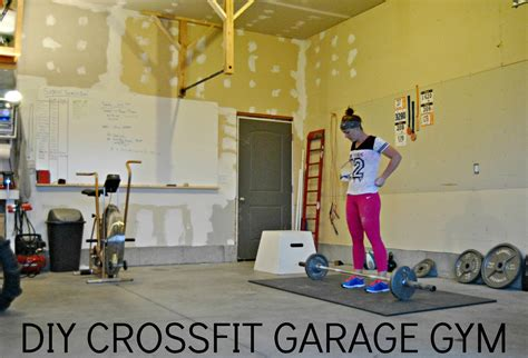 simply diy crossfit garage part 1