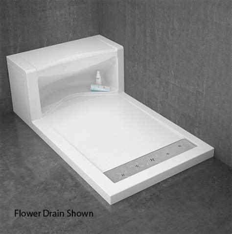 fleurco shower base alessa