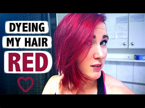 brown to red hair without bleach youtube how to get bright red hair without using bleach youtube