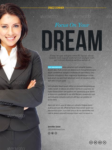 Interactive Magazine Template By Broluthfi Graphicriver Interactive Magazine Template