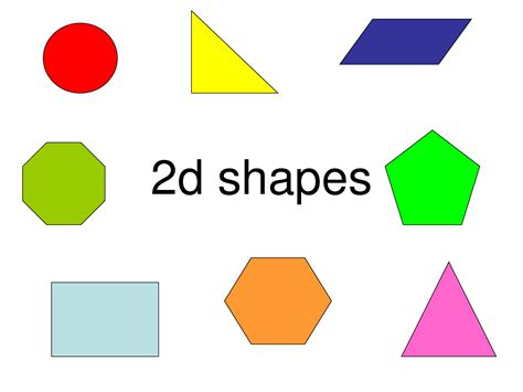 8 Shapes I by 2d Shapes And Shapes 2d Shape