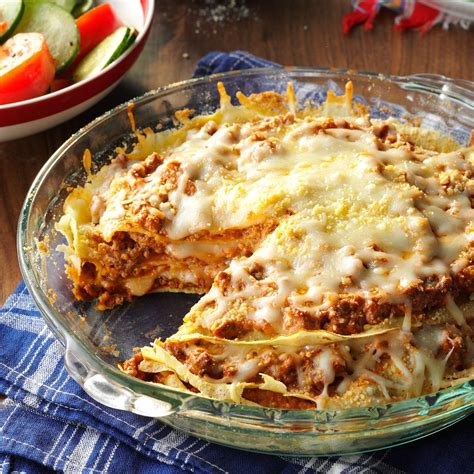 Todays Special Mexican Style Lasagna by Pancake Lasagna Recipe Taste Of Home
