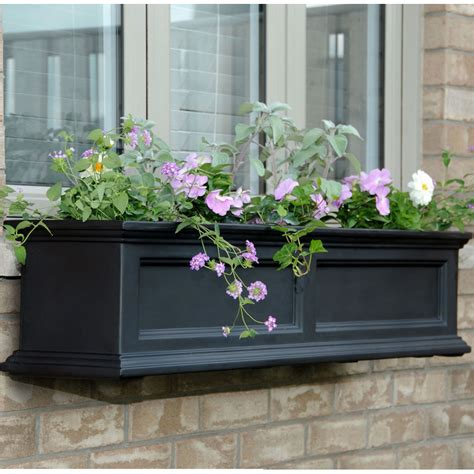 Planter Boxes Window by 4 Foot Window Planter Box Fairfield In Window Planter Boxes