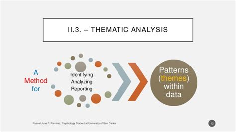 pattern analysis in psychology a summary on quot using thematic analysis in psychology quot