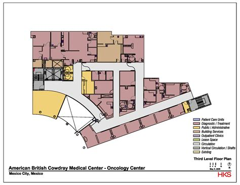 cancer center floor plan gallery of abc cancer center hks 10