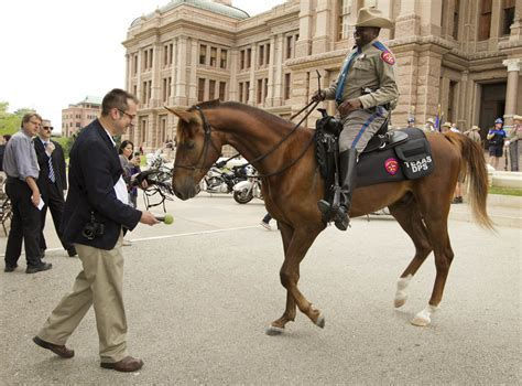Dps Records Dps Introduces Mounted Patrol Unit At The Capitol Collective Vision