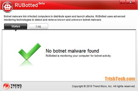 housecall trend trend micro rubotted free protection from botnet malware