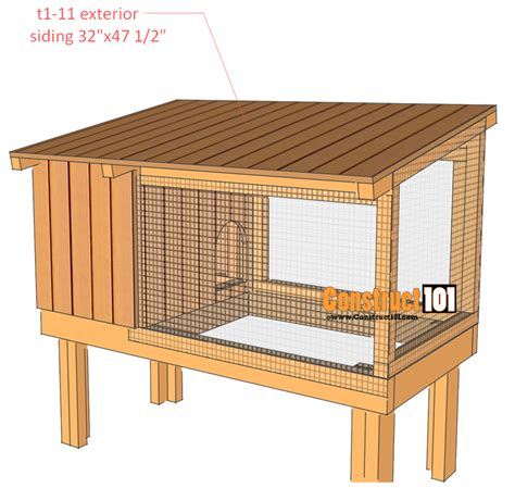 Building Design Plans 25 free rabbit hutch plans you can diy within a weekend