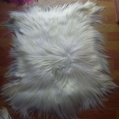real fur rug aliexpress buy kidassia hair goat fur rug real fur blanket genuine goat fur plate