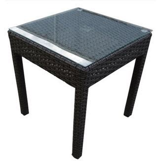 Aro Dining Table Aro 3 Side Table Setting Granite Wicker Inspired Outdoor Living