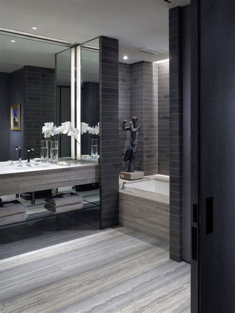 Modern Bathroom Design Nyc Tribeca Loft Modern Bathroom New York By Gath
