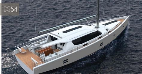 Boat Awning Dixon Yacht Design Moody 54ds