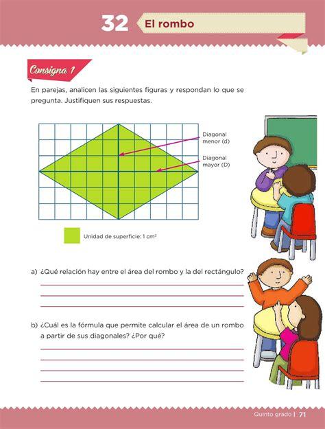 Pagina71 Del Libro De Matematicas Con Respuestas | desaf 237 os matem 225 ticos libro para el alumno quinto grado