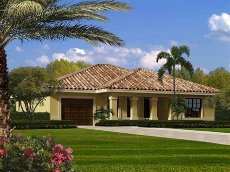 models single story house single story mediterranean house plans large single story home plans