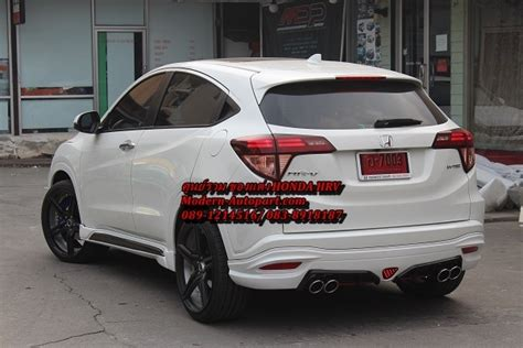 Bodykit Honda Hrv Mugen Frp รวมช ดแต ง แต ง เอสอาร ว hrv แต งรอบค น hrv 6255502