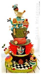 1000 ideas about alice in wonderland cakes on pinterest mad hatter