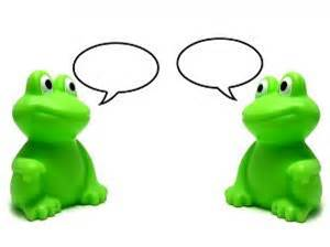 Color Blind Red Green Frogs Pair Talking Each Other Download Free Animals Photo