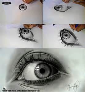 Realistic Graphite Drawings Eyes