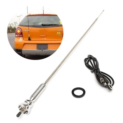 universal car roof fender booster antenna fm am radio aerial extended alexnld