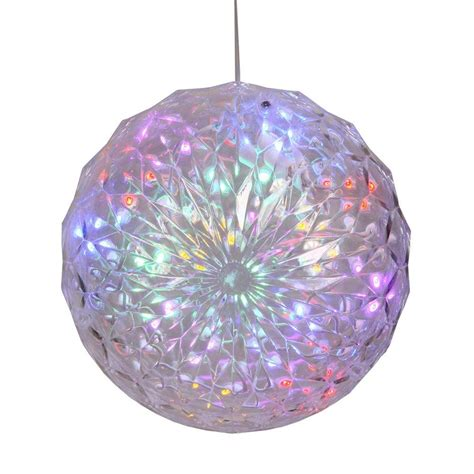 30 Led Lights Lighted Pre Lit Hanging Ornament Ball Outdoor Lighted