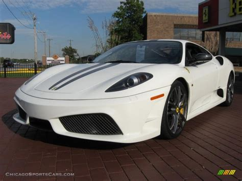 Scuderia Black White 2009 f430 scuderia coupe in white avus photo 7 166069 chicagosportscars cars