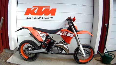 125er Motorrad Youtube by Ktm Exc 125cc Test Ride Y Top Speed Youtube