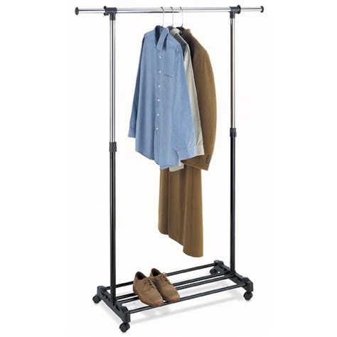 Adjustable Garment Rack by Whitmor Inc Adjustable Garment Rack Walmart