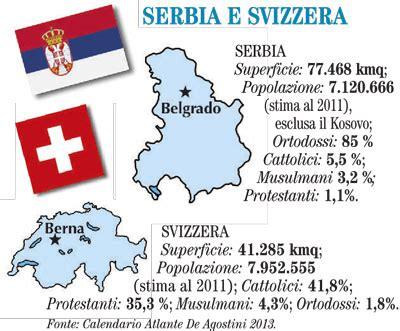svizzera serbia serbia e svizzera la domenica