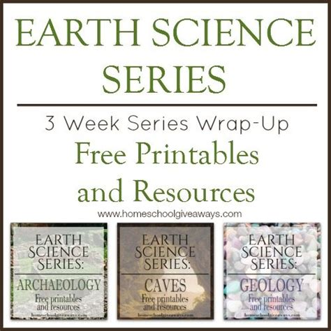 Dinner Series Wrap Up by Earth Science Series 3 Week Series Wrap Up Of Free