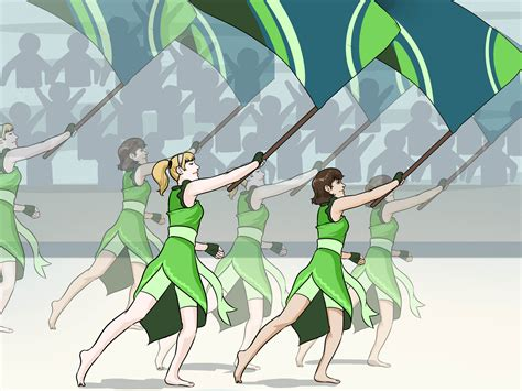 what is the color guard 4 ways to do color guard wikihow