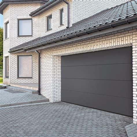 sektionaltor anthrazit solid elements garagentor b x h 2 500 x 2 125 mm