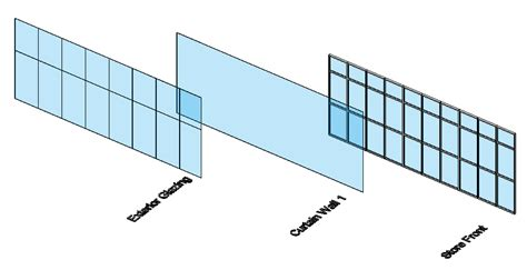 how to create a curtain wall in revit cre8ivethings revit totd 6 8 09 curtain walls 2